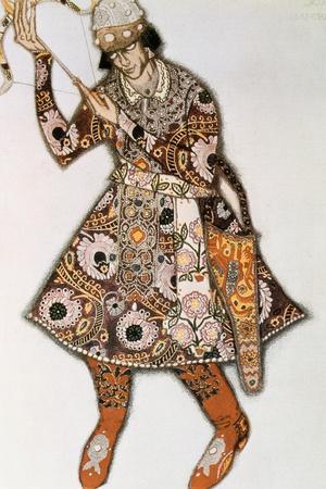 Costume Design for a Ballet by Igor Stravinsky, 1913