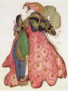 Costume Design for the Ballet 'La Legende de Joseph', 1914 by Leon Bakst