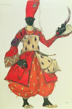 Eunuch Costume from 'Scheherazade' by Rimsky-Korsakov (Design) by Leon Bakst