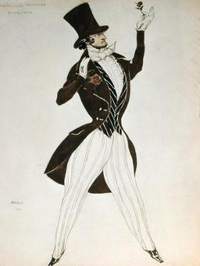 Florestan, Design for a Costume for the Ballet Carnival Composed by Robert Schumann, 1919 by Leon Bakst