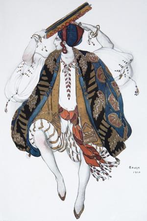 Jewish Dance. Costume Design for the Ballet Cléopatre, 1910