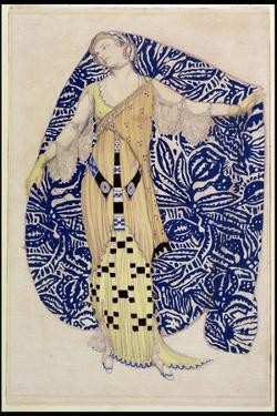 Modern Dress, Dione, 1910 by Leon Bakst