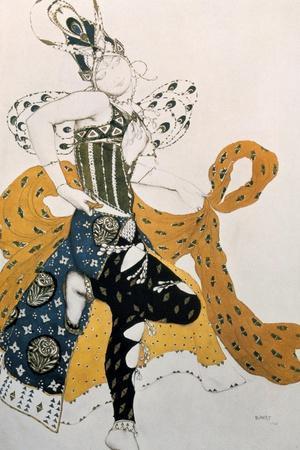 Peri (Natasha Trouhanov), Costume Design for La Peri, 1911