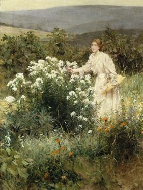 Picking Wild Flowers by Leon Bakst