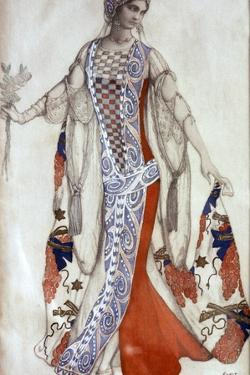 Sleeping Beauty, Ballet Costume Design, C1913 by Leon Bakst