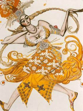 The Firebird, Costume for the Firebird, the Ballet by Lgor Stravinsky, 1910 by Leon Bakst