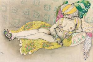The Yellow Sultana, 1916 by Leon Bakst