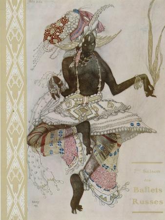 Title Page of Souvenir Program for Ballets Russes