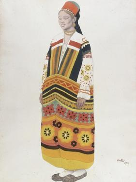 Young Peasant Girl, 1922 by Leon Bakst