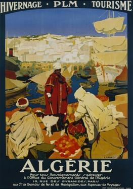 Algerie Poster by Leon Cauvy