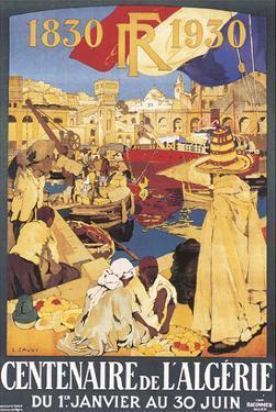 Centenaire de l'Algérie, c.1930 by Leon Cauvy