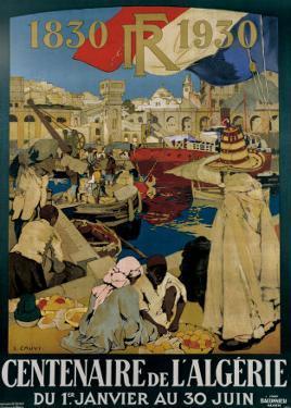 Centenaire en Algerie by Leon Cauvy
