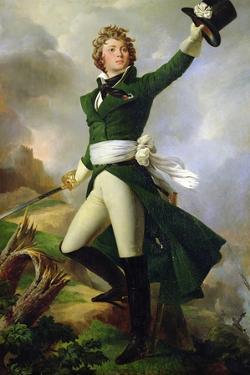 Antoine Philippe De La Tremoille, Prince of Talmont, 1826 by Leon Cogniet
