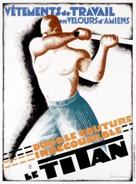 Le Titan by Leon Dupin