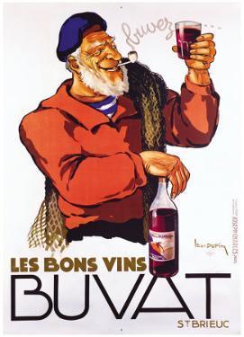 Les Bons Vins Buvat by Leon Dupin
