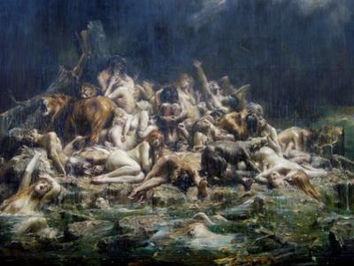 The Deluge by Léon-François Comerre