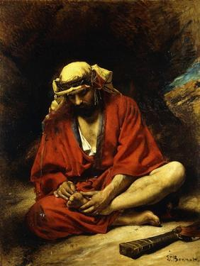 An Arab Plucking a Thorn from His Foot by Leon Joseph Florentin Bonnat