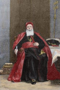 Cardinal Charles Lavigerie (1825-1892) by Leon Joseph Florentin Bonnat