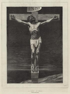 Le Christ, from the Paris Salon by Leon Joseph Florentin Bonnat