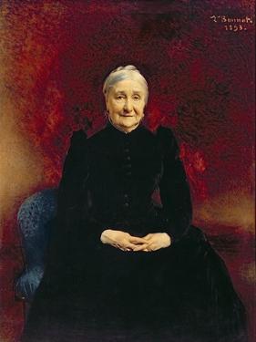 Madame Bonnat, the Artist's Mother, 1893 by Leon Joseph Florentin Bonnat