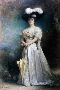 Madame Pascal, 1905 by Leon Joseph Florentin Bonnat