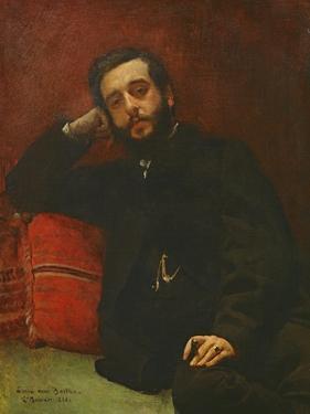 Portrait of Adrien Barthe, 1866 by Leon Joseph Florentin Bonnat