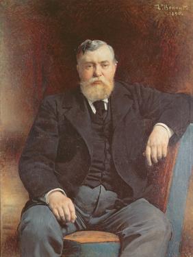 Portrait of Prince Vyacheslav Tenishev, 1896 by Leon Joseph Florentin Bonnat