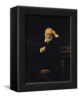 Portrait of Victor Hugo (1802-85) 1879 by Leon Joseph Florentin Bonnat