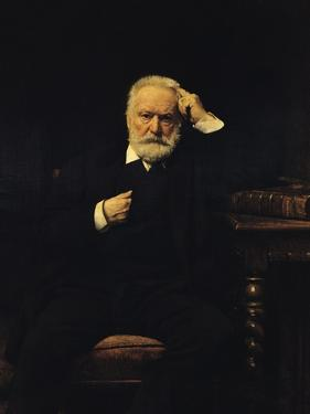 Portrait of Victor Hugo (1802-85) 1879 by Leon Joseph Florentin Bonnat
