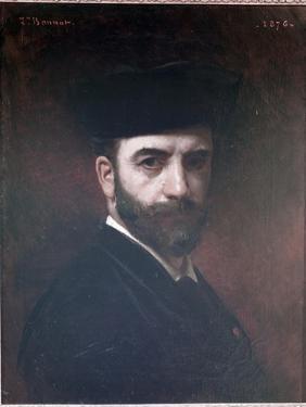 Self Portrait, 1876 by Leon Joseph Florentin Bonnat