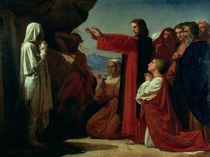 The Raising of Lazarus, 1857 by Leon Joseph Florentin Bonnat