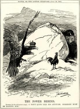 WW1 - Cartoon - the Austrian Ultimatum by Leonard Craven Hill