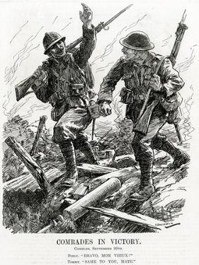WW1 - 'Comrades in Victory' by Leonard Craven Hill