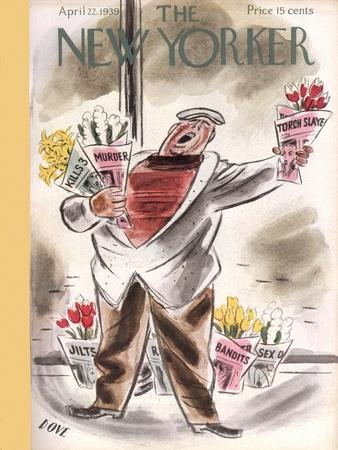 The New Yorker Cover - April 22, 1939