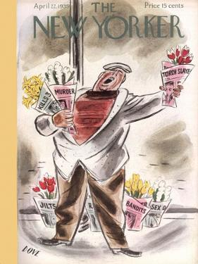 The New Yorker Cover - April 22, 1939 by Leonard Dove