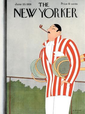 The New Yorker Cover - June 23, 1928 by Leonard Dove