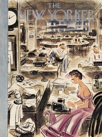 The New Yorker Cover - March 22, 1952