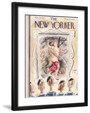 The New Yorker Cover - November 16, 1935 by Leonard Dove