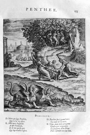 Pentheus, 1615