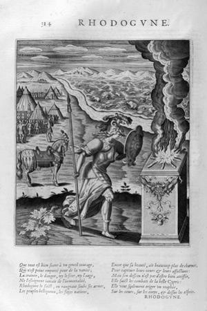 Rhodogune, 1615