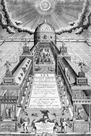 Title Page of Les Images .. Des Deux Philostrates, 1615