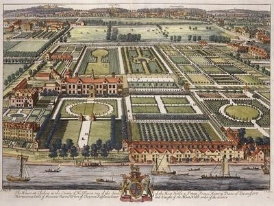 The House at Chelsea in the County of Middlesex Engraved by Johannes Kip