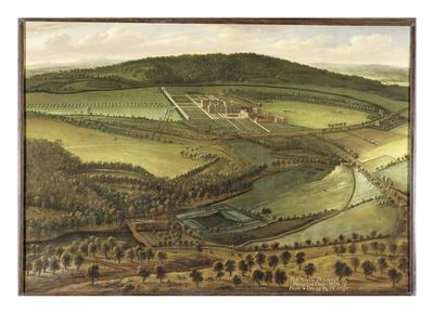 The North Prospect of Hampton Court, c.1699