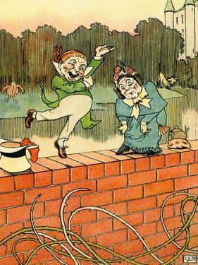 Edward Lear 's Mr and Mrs Discobbolos by Leonard Leslie Brooke