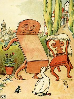 Edward Lear 's The Table and the Chair by Leonard Leslie Brooke