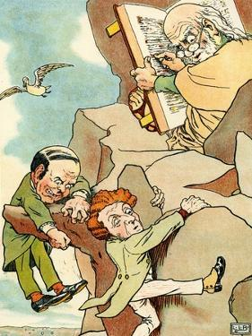 Edward Lear 's The Two Old Bachelors by Leonard Leslie Brooke