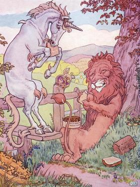 The Lion and the Unicorn by Leonard Leslie Brooke