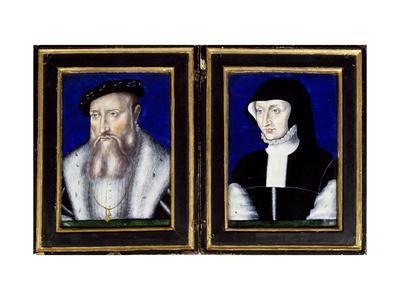 Portraits of Claude of Lorraine and Antoinetta of Bourbon