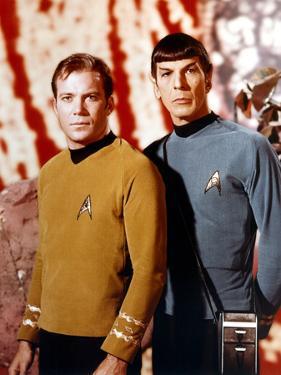 "Leonard Nimoy; William Shatner. ""Star Trek"" [1966]."