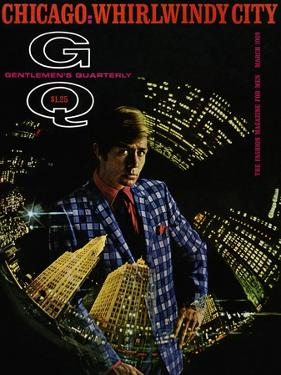 GQ Cover - March 1969 by Leonard Nones